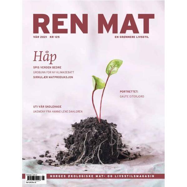 Bilde av Ren Mat magasinet 2021 Vår Håp
