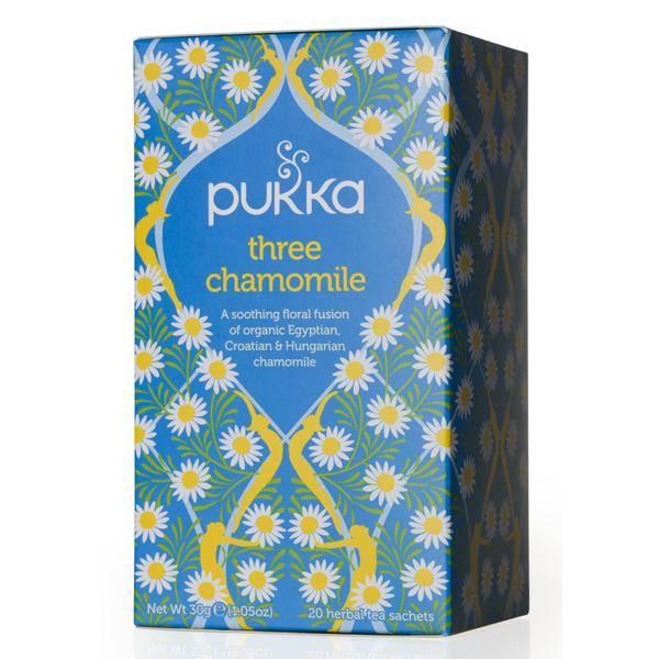 Bilde av Pukka Three Chamomile tea 20 poser
