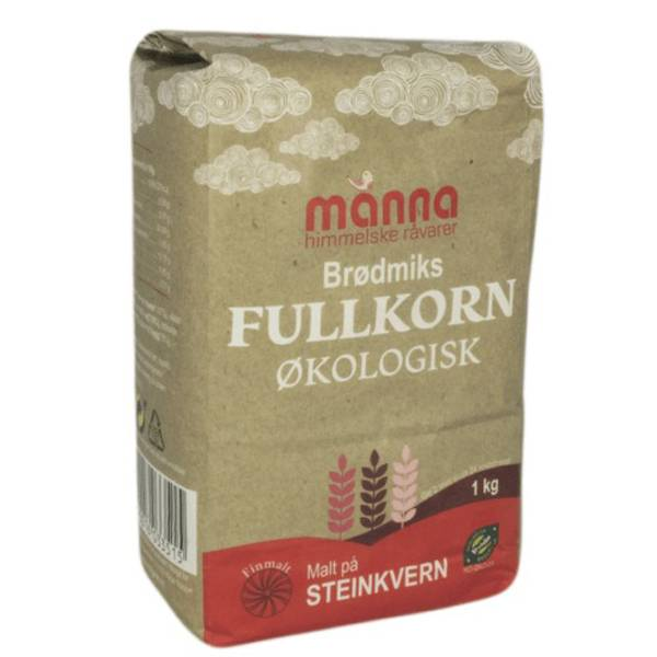 Bilde av Manna Brødmiks Fullkorn 1 kg