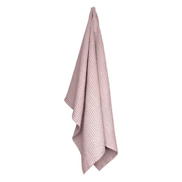 Bilde av Big Waffle Towel & Blanket Pale Rose