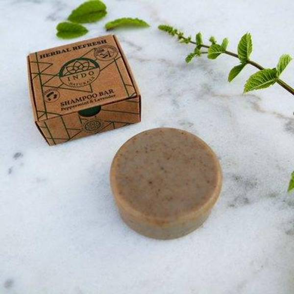 Bilde av Indo Naturals Shampo Herbal Refresh (Probiotisk)