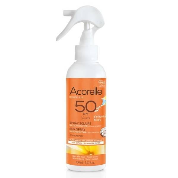 Bilde av Acorelle Kids Sun Spray SPF 50 - 150 ml