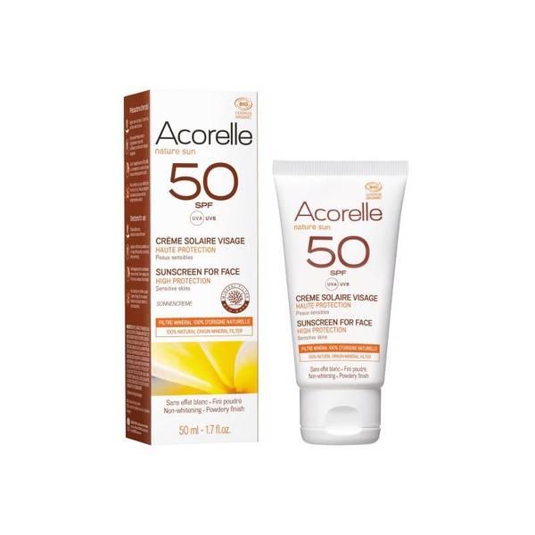 Bilde av Acorelle Sun Face Cream SPF 50 - 50ml