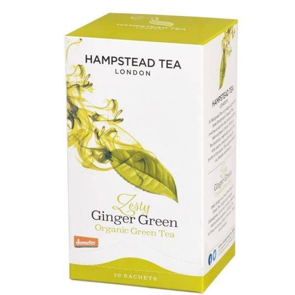 Bilde av Hampstead Green Ginger tea 20 bags