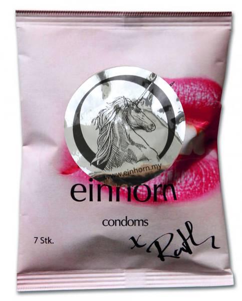 Bilde av Einhorn 7-pk veganske kondomer Forbidden Kiss