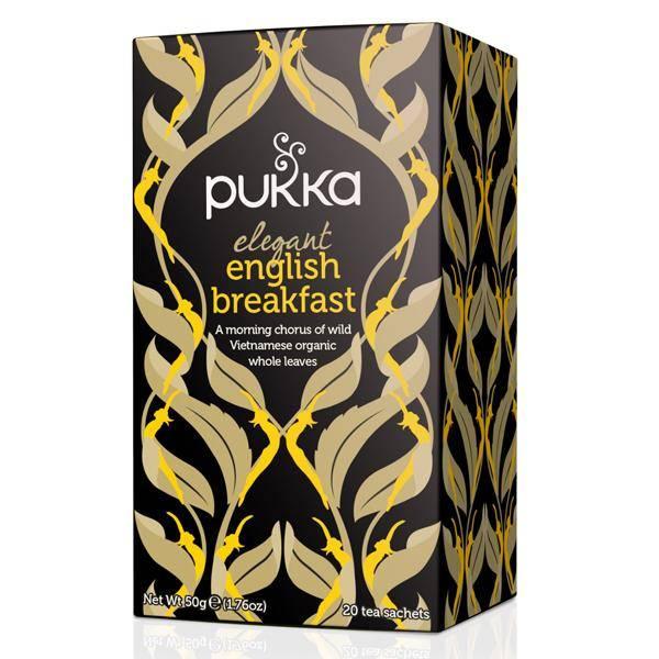 Bilde av Pukka Elegant English Breakfast 20 poser
