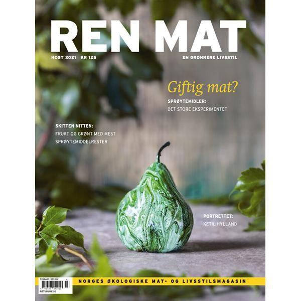 Bilde av NY! Ren Mat magasinet 2021 Høst Sprøytemidler
