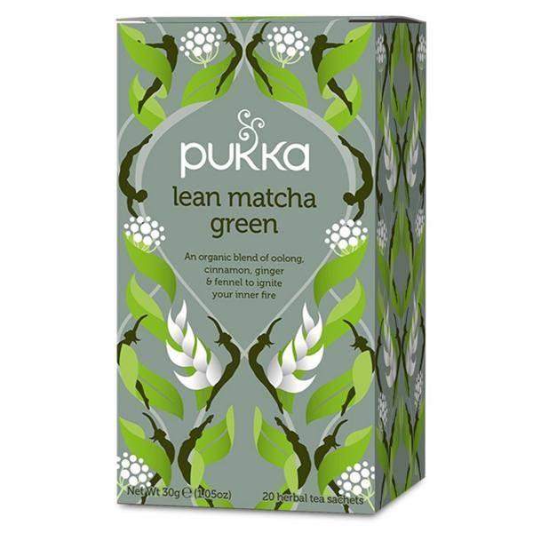 Bilde av Pukka Lean Matcha Green tea 20 poser